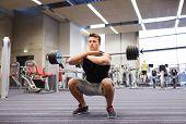 image of squatting  - sport - JPG