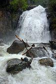 The Pearl Of Altai Region- Korbu Waterfall