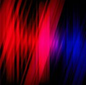 Dream lights background with red color