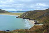 picture of na  - Tra na Rossan horseshoe beach Co - JPG