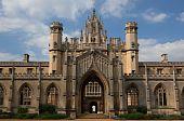 St Johns College. Cambridge. Uk.