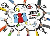 picture of idealistic  - Diversity Hands Leadership Management Team Support Volunteer Concept - JPG