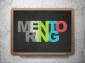 stock photo of mentoring  - Education concept - JPG