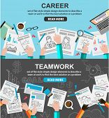 picture of financial management  - Design Concepts for team work and career - JPG