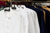 image of clothes hanger  - shopping - JPG