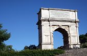 picture of spqr  - The Arch of Titus - JPG
