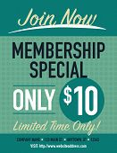 pic of joining  - Join now membership specials poster limited time only - JPG