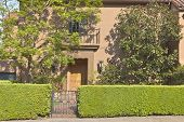 image of portland oregon  - Residential homes on the west hills in Portland Oregon - JPG
