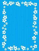 image of jasmine  - Beautiful jasmin floral frame  - JPG