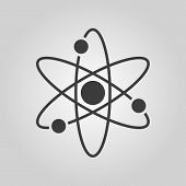 picture of atom  - The atom icon - JPG