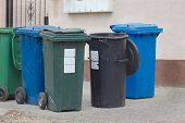 stock photo of dustbin  - Dustbins - JPG