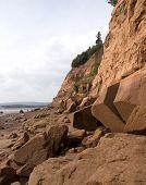 Sheer Cliff Coastline