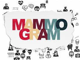 pic of mammogram  - Medicine concept - JPG