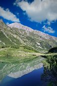 Lake Landscape In National Park Pirin, Bulgaria