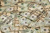 American $20 Dollar Bill Background