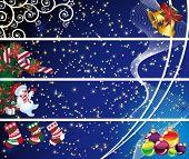 Постер, плакат: Четыре Рождества баннеры
