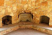 Triple Fireplace