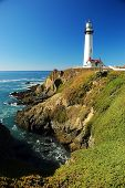 Pidgeon Point Lighthouse, Near Monterey Ca.