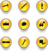construction buttons