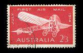 Estampilla Vintage monoplano