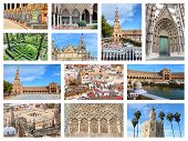 Seville Collage poster