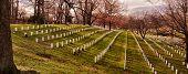 stock photo of arlington cemetery  - Arlington National Cemetery in Arlington - JPG