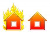 house flame