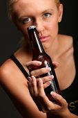 Model  And Beer