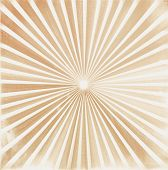 Rays Old Gold Background. Illustration For Your Bright Beams Design. Sun Ray Theme Abstract Wallpape poster