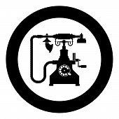 Vintage Telephone Retro Rotary Plate Antique Phone Old Phone Retro Phone Rarity Telephone Vintage Ph poster