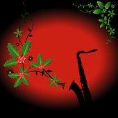 Weihnachten sax
