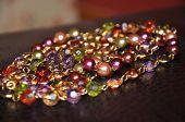 Pile Of Beads On Angle