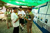 KO CHANG, THAILAND - NOVEMBER 18: Unidentified participants at local Ko Chang Elections, Nov 18, 201