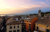 View Of Sirmione With Lake Garda
