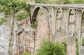 Tara Bridge In Montenegro poster