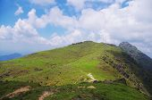 prachtige heuvel van china