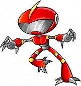 Warrior Soldier Robot Cyborg Vector