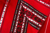 Details of traditional romanian carpets