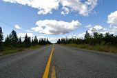Infinite road Canada