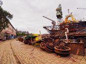 pic of shipbuilding  - Stocznia Gdanska  - JPG