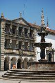 Church And Casa Da Misericordia In The Republic Square. Viana Do