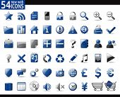 picture of home is where your heart is  - 54 Blue Web Icons for your internet sites - JPG