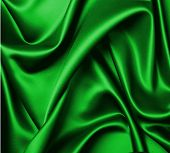 Green Silk Abstract Background
