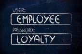 User Employee, Password Loyalty