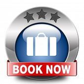 book now online ticket for flight holliday or vacation blue metal icon