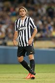 LOS ANGELES - AUGUST 3: Juventus F Alessandro Matri during the 2013 Guinness International Champions