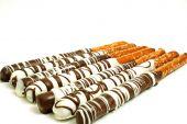 Chocolate Pretzel Sticks