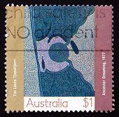 Postage Stamp Australia 1988 Ancestor Dreaming, Aboriginal Paint