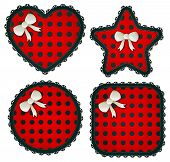 Red Polka Dot Patches Collection