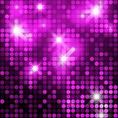 stock photo of glitter sparkle  - Pink seamless shimmer background with shiny silver and black paillettes - JPG